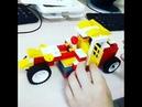 Механическая карета сборка моделей на занятиях по робототехнике в МЕЛА РОССА