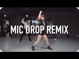 1Million dance studio Mic Drop - BTS (ft. Desiigner) (Steve Aoki Remix) / Jane Kim Choreography