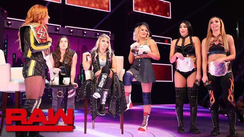 """The IIconics and Lacey Evans crash A Moment of Bliss"""" Raw May 20 2019"""