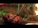 Жареная курица-примитивная кулинария ASMR Hang-Roasted Chicken - Primitive Cooking ASMR