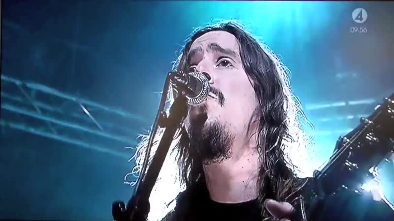 Opeth - Burden live at TV 4