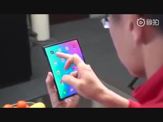 Xiaomi показала свой гибкий смартфон!(Flexible smartphone from Xiaomi)