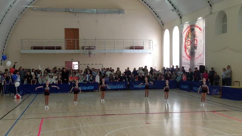 GYMmaster, танцевальная гимнастика, 6-8 лет, 1 место.