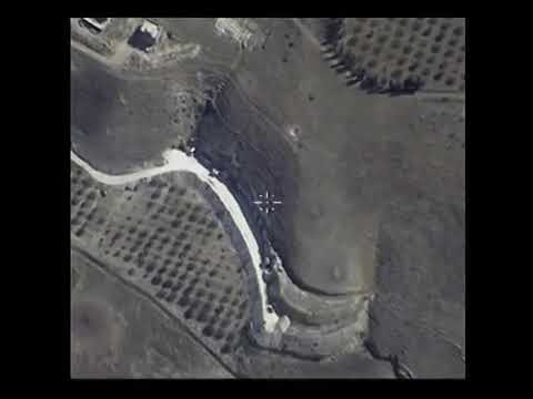 The of Russian air force strikes on ISIS targets in Syria