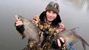Лещ по первому льду ! Рыбалка в Подмосковье в Балашихе !