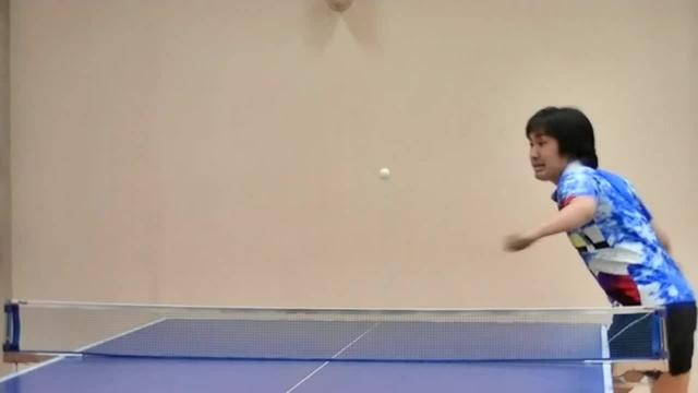 How I play table tennis
