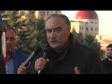 Руслан Аушев выступил на акции протеста в Магасе