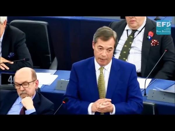 """Nigel Farage: """"Frau Merkel, wann werden Sie sich bei den Deutschen entschuldigen?"""" - Deutsch"""