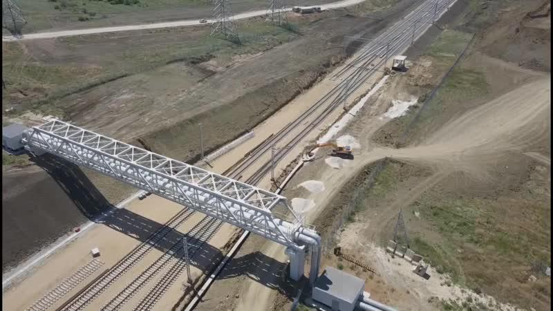 Крымский мост(19.06.2019)Будет два перехода на Керчь Южная Второй путь стремится
