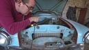 Запускаем москвич 407 который стоял 25 лет в гараже Первый выезд