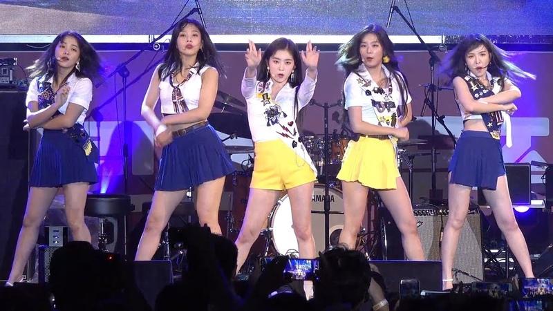 180916 레드벨벳 Red Velvet 배드보이 Bad Boy 4K 직캠 @ 어제그린오늘 뮤직 페스티벌 by Spinel (AX700 촬영)