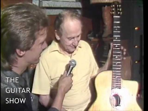 THE GUITAR SHOW with Les Paul (Django Reinhardt's Guitar)