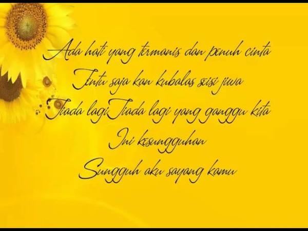 Kahitna - Cantik (lyric)