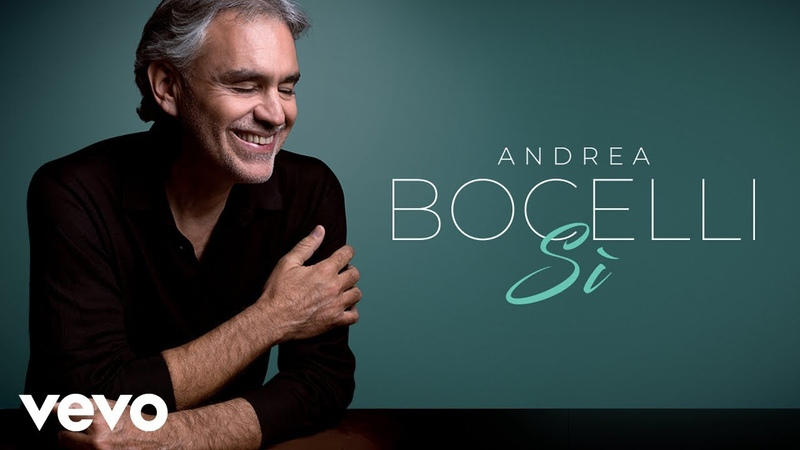 Andrea Bocelli Vertigo feat Raphael Gualazzi at the piano audio