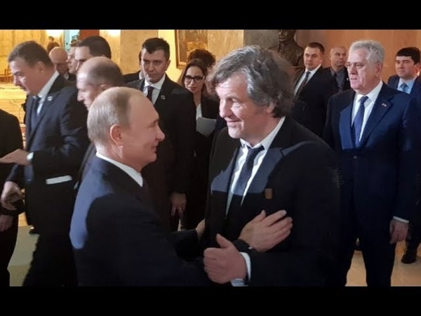 Slika Govori Više od Hiljadu Reči - Evo Koliko Putin Uvažava Emira Kusturicu - Razgovor Dva Moćnika