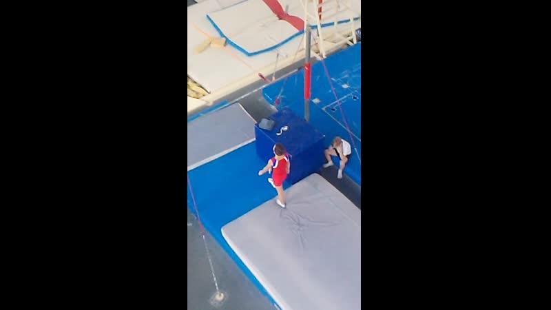 Андрей Фомин, 23.03.19 программа 1 юн.разряда по спортивной гимнастике 3