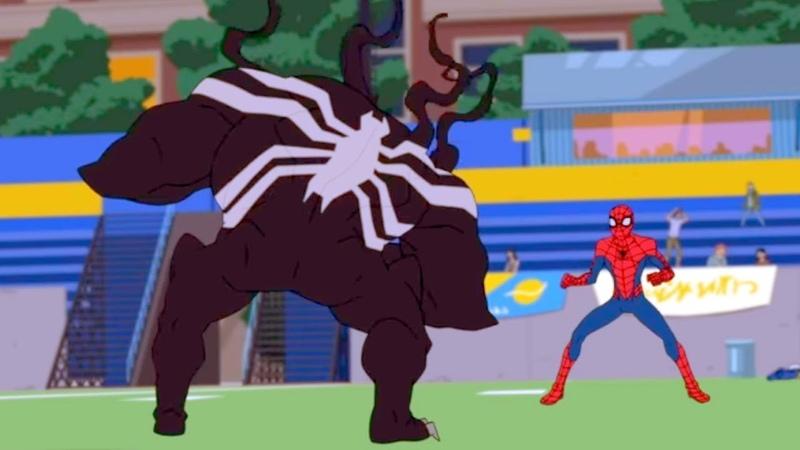 Marvel | Человек паук 2017 | сезон 1 серия 14 - Веном