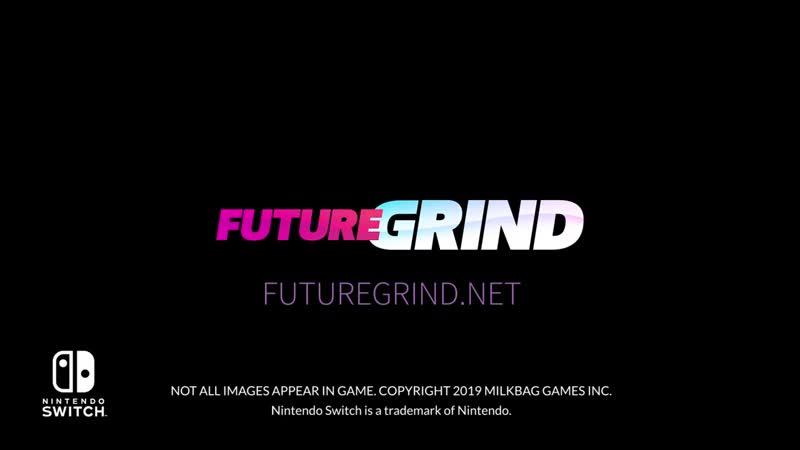 FutureGrind - Релизный трейлер (Nintendo Switch)