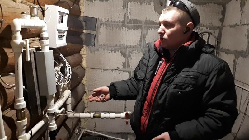 Смонтировал обновленный котел ИННОВАТОР