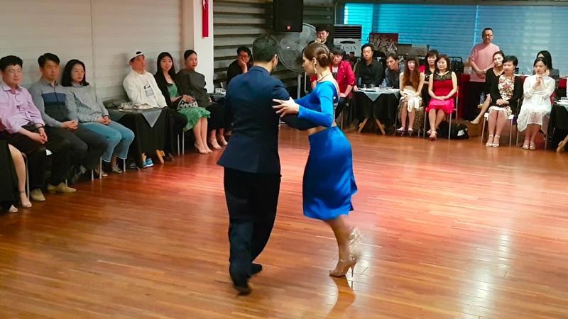Paula Tejeda y Lucas Carrizo bailan, Melodia Oriental BTF 2018