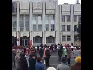В Ярославле сотни жителей отметили пятилетие Крымской весны в танце