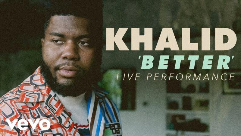 Khalid - Better Official Live Performance (Vevo X)
