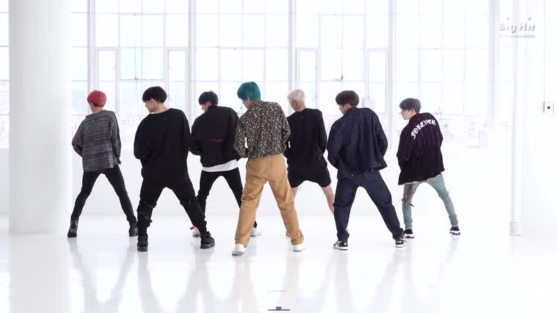[CHOREOGRAPHY] BTS (방탄소년단) 작은 것들을 위한 시 (Boy With Luv) Dance Practice