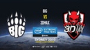 BIG vs 3DMAX IEM Sydney 2019 Europe Closed QA map2 de dust2 SSW