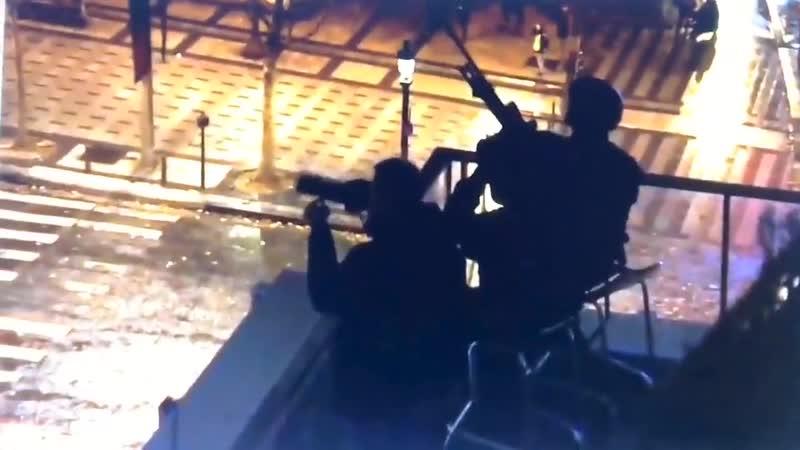 Scharfschützen in Paris! Snipers in Paris