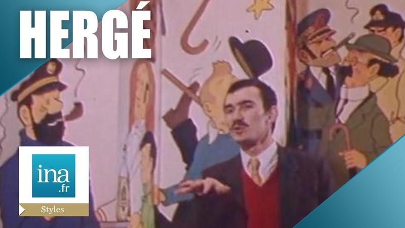 Benoît Peeters Le monde d'Hergé   Archive INA