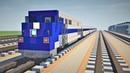 Minecraft Metro North Train GE Genesis Tutorial