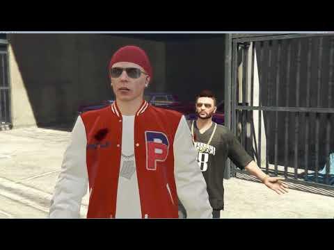 Grand Theft Auto V Online Енотный и Ромыч в пати с двумя телками)