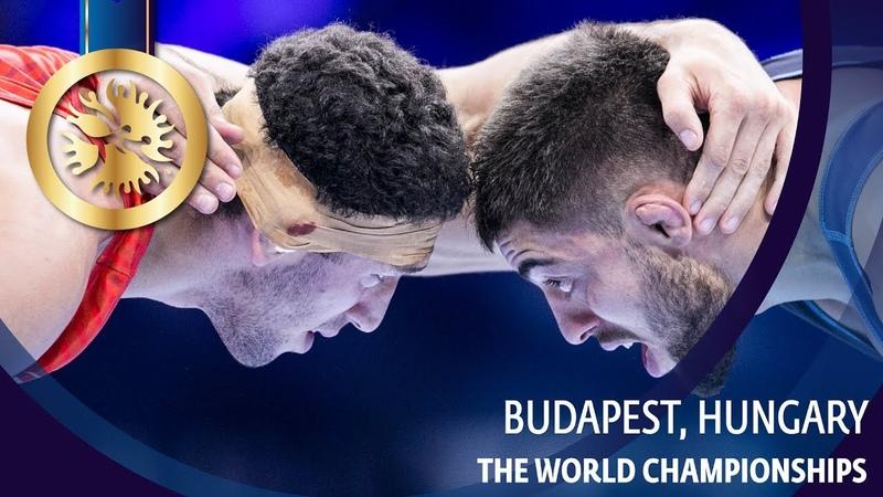 ЧМ 2018 Финал - 74 кг: Заурбек Сидаков (Россия) vs Автандил Кентчадзе (Грузия)