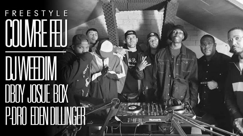 DJ WEEDIM x DBOY x JOSUÉ x BOX x P-DRO x EDEN DILLINGER - Freestyle COUVRE FEU sur OKLM Radio {OKLM TV}