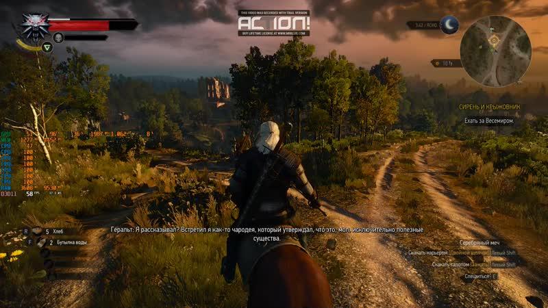 Light test The Witcher 3 Wild Hunt (starting, high) Fx-6300 4 gb ddr3 1060 3gb