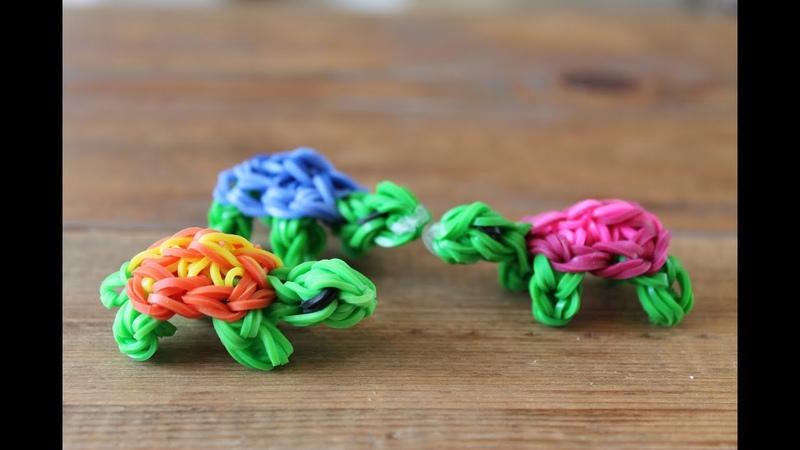 Rainbow loom Nederlands, schildpadje