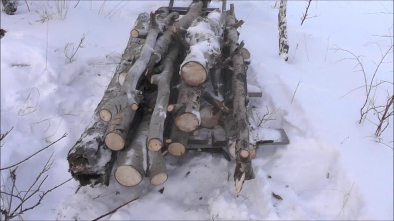 Жизнь в деревне И снова в лес,по дрова)