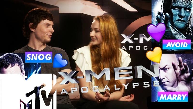 X-Men: Apocalypse Cast Play Snog/Marry/Avoid: X-MEN EDITION | MTV Movies