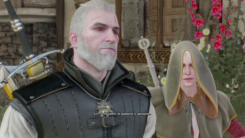 Geralt? Jaki Geralt? Z Rivii kurwa. The Witcher 3 Wild Hunt