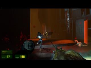 Смотр Opposing Force 2 контента в HL2 Episode One #1 .60 FPS