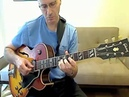 Dan Adler playing along with Joe Pass The Sands Of Time from Simplicity