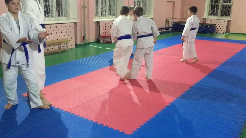 12 ноября 2018 Отработка техник Айкидо | 合気道 | Aikido