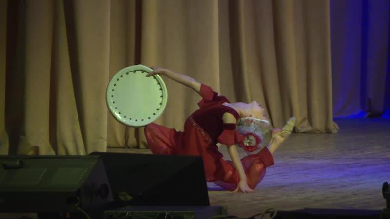 Концерт ко дню инвалида Отделение художественной гимнастики Всеволожской СШОР Гавала