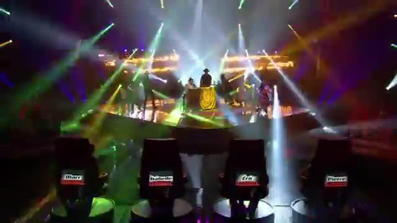 Шоу Голос Канада (Квебек) 2017. - Брэндон Миньякка с песней Мысли вслух. — The Voice / La Voix Canada (Quebec) 2017. -