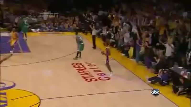 Ron Artest Clutch 3-Pointer - Game 7 (Lakers Vs. Celtics) NBA Finals HD