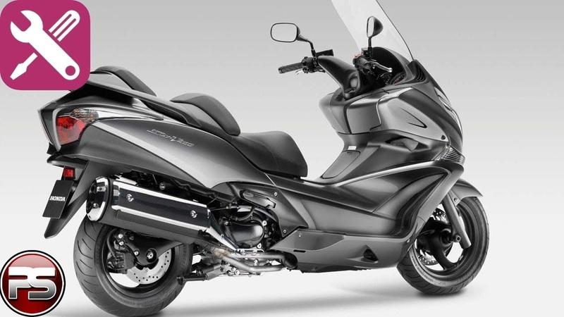 Honda Silver Wing 400 устройство вариатора и ТО
