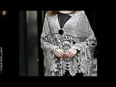 شال كروشيه لاسيه الجزء التالتcrochet shawl p3