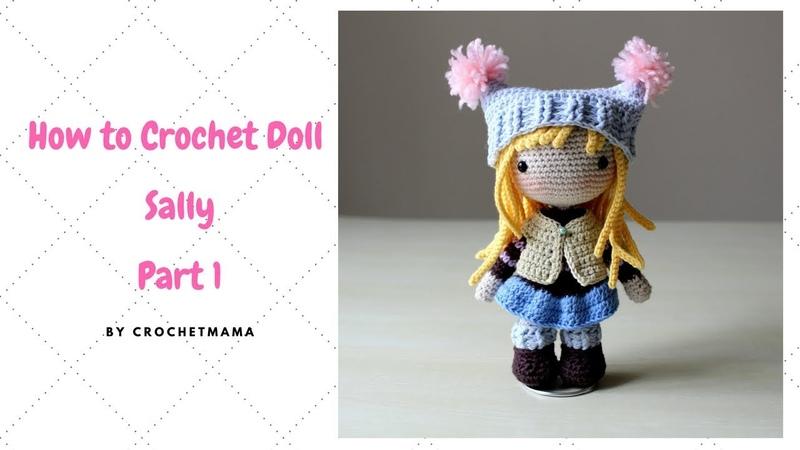 Crochet Amigurumi Doll Tutorial - Sally (Part 12)
