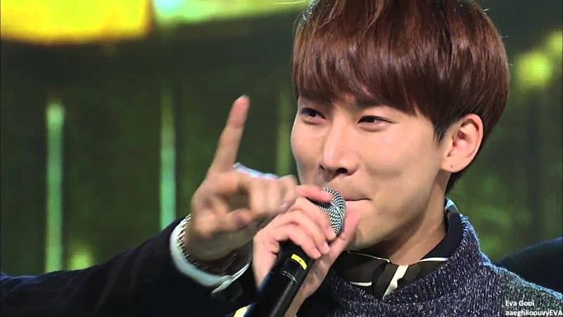[FULL ENG SUB] 151021 BTOB's first music show win кфк