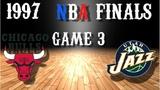 1997 NBA Finals Game 3 Chicago Bulls@Utah Jazz